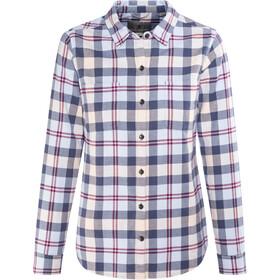 Royal Robbins Lieback Flannel LS Shirt Damen blue indigo